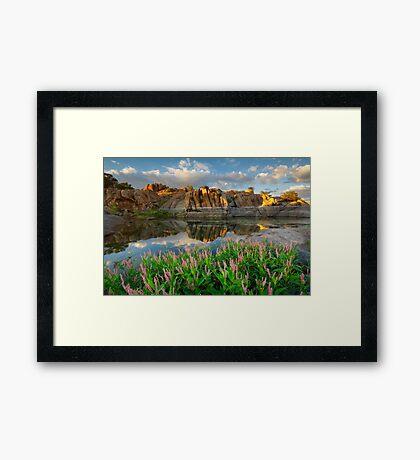 Summer Dells Framed Print