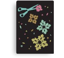 Paper and Scissors Canvas Print