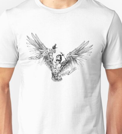 Zyzz - Winged Tee 2 Unisex T-Shirt