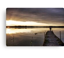 Clear light Canvas Print