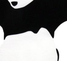 Banksy Panda With Handguns Sticker