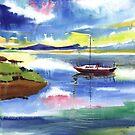 Boat n Colors by Anil Nene