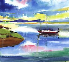 Boat n Colors by Anil Nene