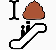 I Poop Escalator Unisex T-Shirt
