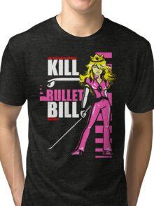 Kill Bullet Bill (Black & Magenta Variant) Tri-blend T-Shirt
