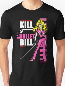 Kill Bullet Bill (Black & Magenta Variant) Unisex T-Shirt