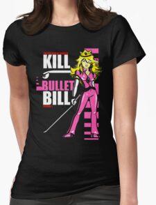 Kill Bullet Bill (Black & Magenta Variant) Womens Fitted T-Shirt