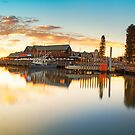 Fremantle Sunset Panorama by Ben Reynolds