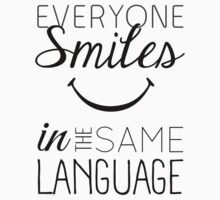 Everyone Smiles One Piece - Short Sleeve