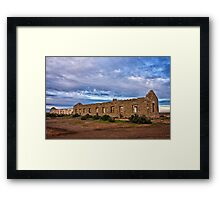 Cottage Creek Ruins Framed Print