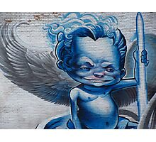 Angel ? Who Me ! Photographic Print
