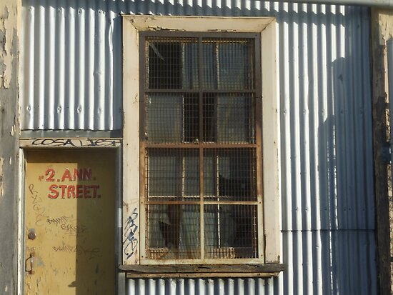Fancy window on old building. - Williamstown - Vic. by EdsMum
