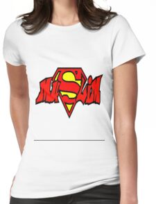 Super Muslim Womens Fitted T-Shirt
