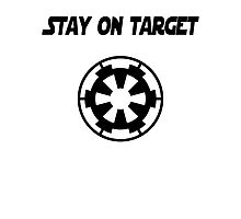 Stay On Target Photographic Print
