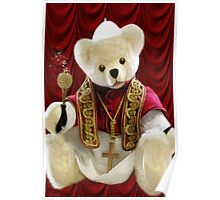 † ❤ † POPE BEAR SPRINKLES BLESSINGS TO ALL † ❤ † Poster