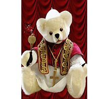 † ❤ † POPE BEAR SPRINKLES BLESSINGS TO ALL † ❤ † Photographic Print