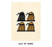 Cult Of Skaro Photographic Print