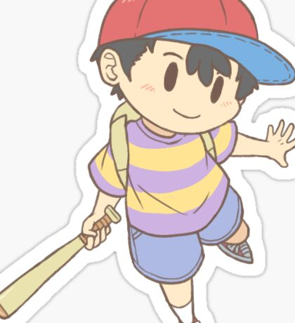 [Earthbound] Chosen Four - Ness Sticker