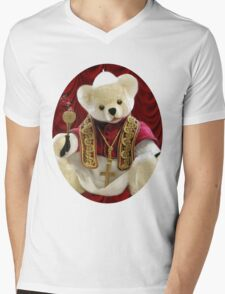 † ❤ † POPE BEAR SPRINKLES BLESSINGS TO ALL TEE SHIRT † ❤ † Mens V-Neck T-Shirt