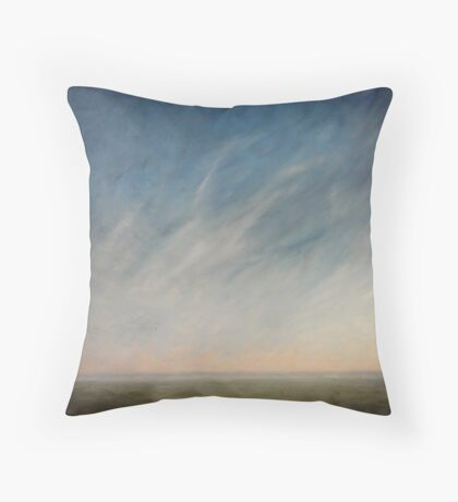 View across the downs. Throw Pillow