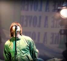 Liam Gallagher by Josh Deane