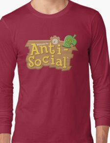 Animal Crossing Anti-Social Long Sleeve T-Shirt