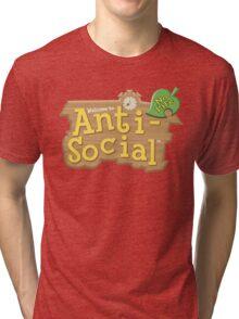Animal Crossing Anti-Social Tri-blend T-Shirt