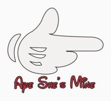 Aye She's Mine Mickey hand by daleos