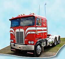 Rock Hard Kenworth by Keith Hawley