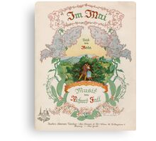 IM MAI (vintage illustration) Canvas Print
