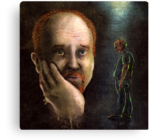Louis C.K. Dripping Awesome Sauce Canvas Print