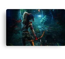 Tomb Raider Canvas Print