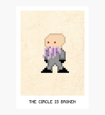 The Circle Is Broken Photographic Print