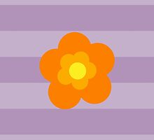 Flowers, Blossoms, Blooms and Petals Orange Yellow by sitnica