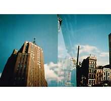 Blue New York Photographic Print