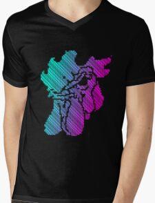 R TO RESTART Mens V-Neck T-Shirt