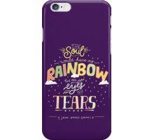 Rainbow and Tears iPhone Case/Skin