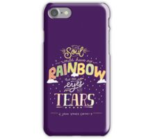 Rainbow and Tears iPhone Case/Skin