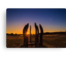 Sunset for all.. Canvas Print