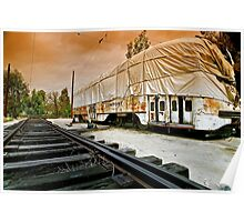 Trolley Undercover, Perris CA Poster