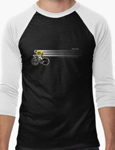 Chris Froome Tour de France 100th Winner 2013 Cycling Team Sky Men's Baseball ¾ T-Shirt