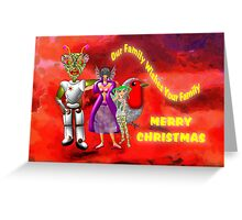 Our Family Wishes Your Family - Merry Christmas Greeting Card