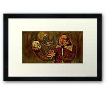 Staring Contest Framed Print