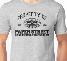 Property of Paper Street Bare Knuckle Boxing Club T-Shirt