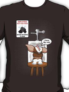 Gizmo Hates His Job T-Shirt