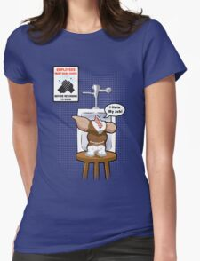 Gizmo Hates His Job Womens Fitted T-Shirt