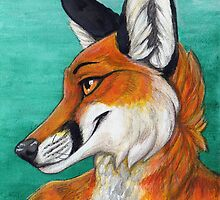 Fox Portrait by Matt Jones
