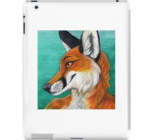 Fox Portrait iPad Case/Skin