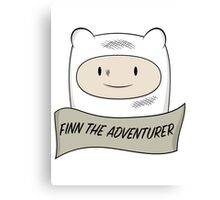 Fin The Adventurer Canvas Print