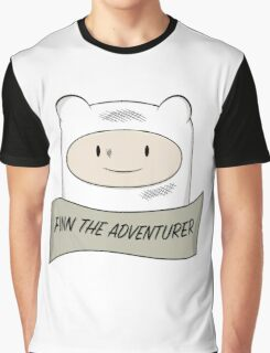 Fin The Adventurer Graphic T-Shirt